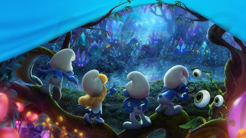 Смурфики: Затерянная деревня – Русский трейлер (2017)   Smurfs: The Lost Village