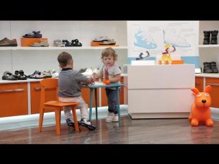 Детская ортопедическая обувь ORTMANN в салонах