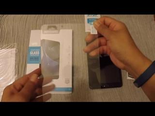 Установка защитного стекла Samsung Galaxy Tab E т560