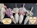 Diy Parasol Embellishment Christmas Ornament. decor Fabric crafts, Umbrella how to make Shabby Chic