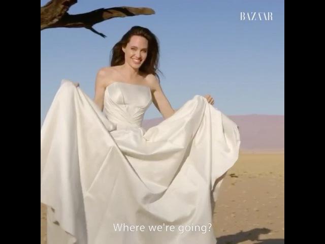 Анджелина Джоли для Harper's Bazaar 😍😍😍