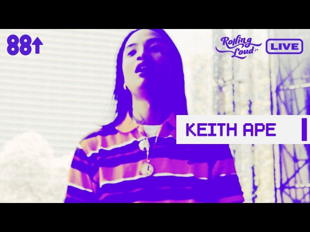 Keith Ape 야만인 Yamanin LIVE FROM ROLLING LOUD 17