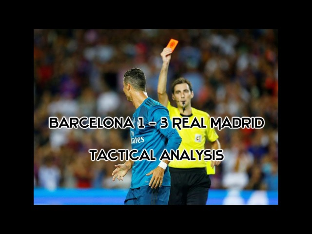 How Zidanes Real Madrid dominated Valverdes Barcelona Tactical Analysis (Super Cup)  1st Leg 