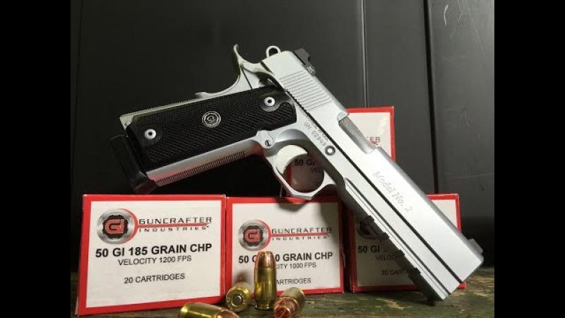 GUNCRAFTER INDUSTRIES MODEL NO 2 45acp