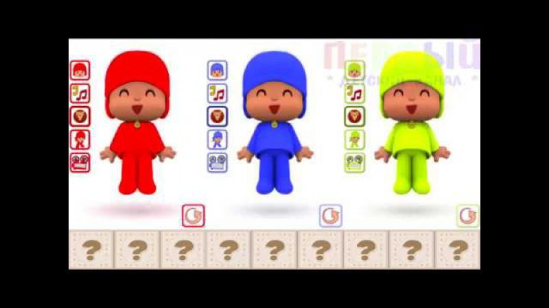 Bad Baby Вредные детки 🙃 Talking Pocoyo Learn Colors Funny Education Compilation for Kids