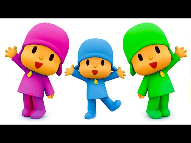 Bad Baby Вредные детки 👶 Talking Pocoyo Learn Colors Funny Education Compilation for Kids