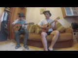 Raindrops keep falling on my head. B. J. Thomas (cover) Ukulele&ampGuitar. Kolya X &amp Sery