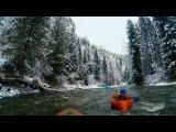 Снежная река Кача Packrafting in Siberia