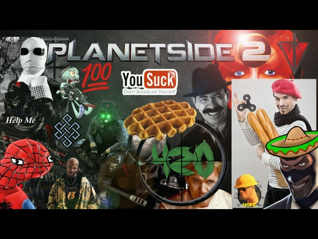 Planetside 2: The Ludicrous Journey of an Infiltrator