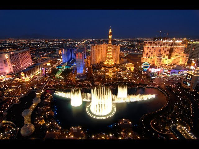 The Fountains Of The Bellagio Las Vegas 4K