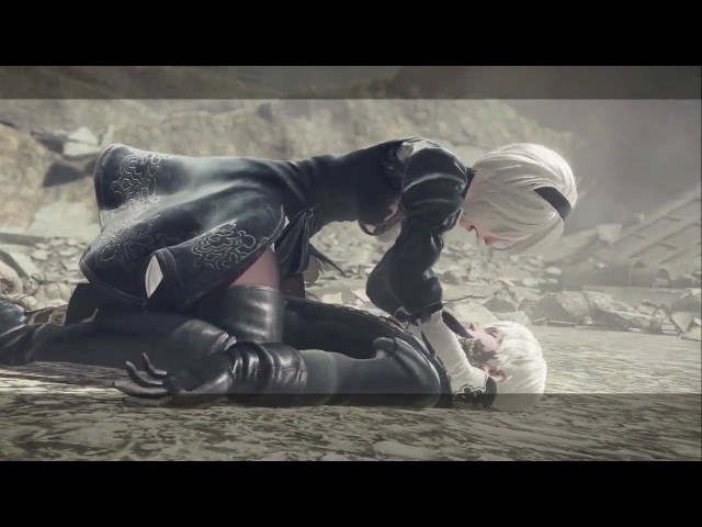 NieR Automata Completed All Endings A to Z ニーア オートマタ 全エンディング集 A~Z