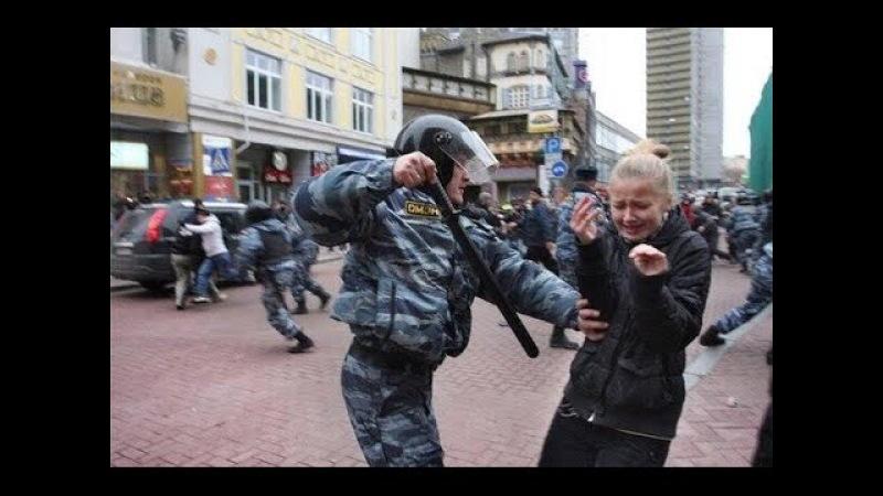 Забастовка наших детей ! Аресты и стычки ! Позор полиции