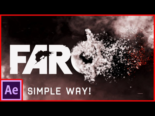 After Effects Tutorial: Particles Logo Text Animation