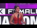 Selena Gomez Wins Favorite Female Artist Pop Rock AMA's 2016