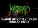 Kastrated Live @ Slamming Brutality Vol.4 Steinbruch Theater 12.11.2016 Dani Zed
