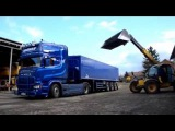 Дальнобой по Европе на Scania R730 . Перевозка зерна