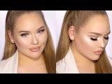 Soft Glittery LUMINOUS Glam Holiday Makeup