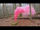 Smoke fountain | красный цветной дым