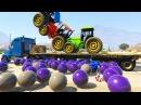 Мультфильм для Детей про Трактор Учим Цвета и Цифры Цветные Машинки Супер Герои и Песенки для Детей