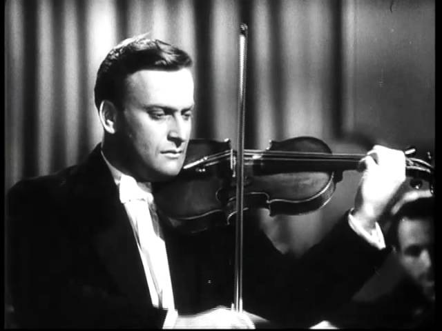 J. S. Bach - Air de la Suite en Re - Yehudi Menuhin, violin