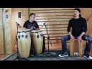 Cajon and Congas Duet with Taku Hirano and Carlos Maldonado