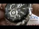 Обзор. Мужские японские наручные часы Casio Edifice EFR-539D-1A