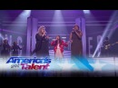 """Angelica Hale and Kechi Sing """"Stronger"""" With Kelly Clarkson - America's Got Talent 2017"""