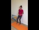 Упражнение №2 для профилактики поясничного гиперлордоза у беременных. Оксана Будкина
