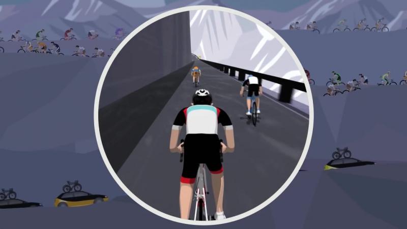 Тур де Франс в картинках (и с переводом)