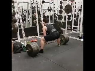 15-летний Остин Уайт - тяга 272 кг