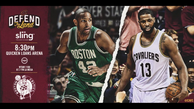 Game 4: Cleveland Cavaliers vs Boston Celtics on Quicken Loans Arena 23.05.2017