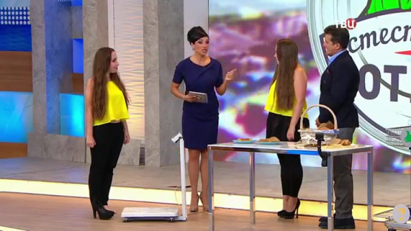 Сёстры Каратыгины в программе Естественный отбор на тк ТВЦ