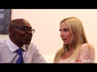 2 Christie Stevens / Межрассовая Измена / Interracial Cuckold 2017 Big Cocks, Fetish, Interracial, Новый Фильм, HD 1080p