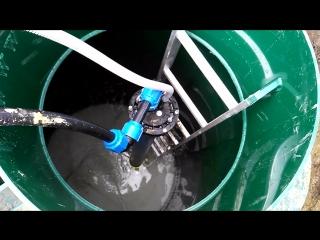 Установка кессона на скважину и станции биологической очистки.