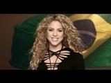 Shakira - La La La (Brasil 2014) (Spanish Version) ft. Carlinhos Brown рус. саб.