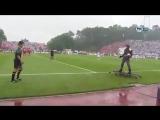 Летающий человек передал мяч судье перед финалом Кубка Португалии?