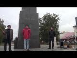 Сергей Городишенин на митинге посвященным трагическим событиям в октября 93- года