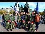 Молодая Гвардия Донбасса на празднике! Состоялись показательные выступления в честь празднования 3 годовщины формирования воинск
