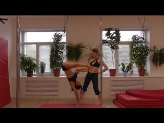 тренируем акробатику