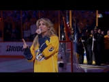 Faith Hill Performs National Anthem in Nashville Before Game 6 of SCF - LIVE 6-11-17