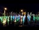 поющие фонтаны в парке им.Горького.Казань