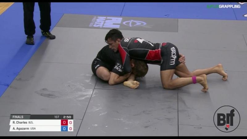 Rubens Charles Cobrinha vs AJ Agazarm ADCC17