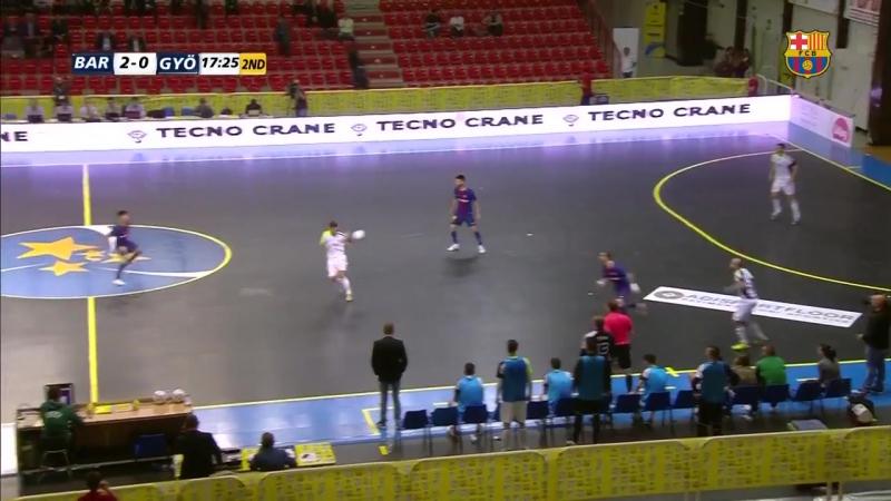 Barça Lassa Györ -70 Futsal Cup UEFA