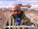 المنار تواكب العمليات ضد داعش شرق حمص