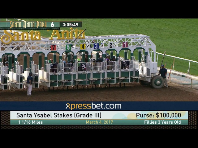 Santa Ysabel Stakes Gr III March 4 2017