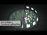 How to Make a Procedural Lighting Ring in Houdini