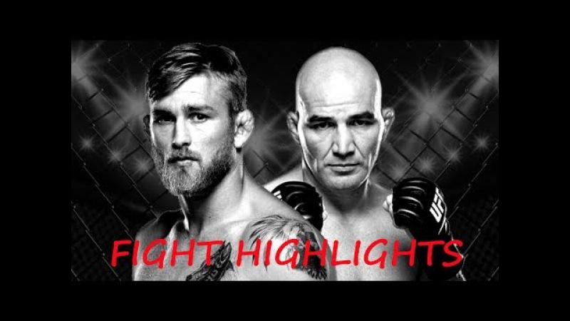 Alexander Gustafsson vs Glover Teixeira FIGHT HIGHLIGHTS