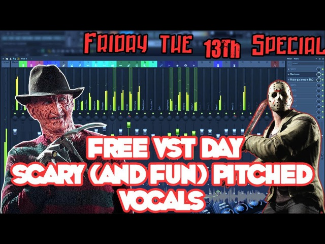 FREE VST DAY Scary Vocal Effect VSTs ((Friday The 13th Special))