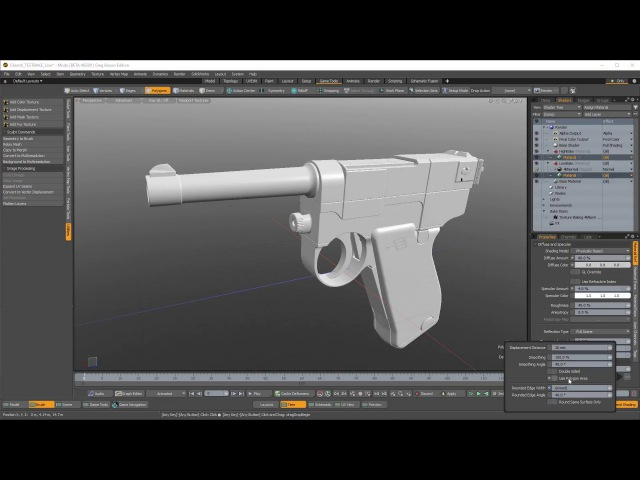 Modo: Exploding a Mesh and Baking a Normal Map!