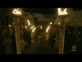 Lagertha sacrifices earl of Sweeden - Vikings 4x18